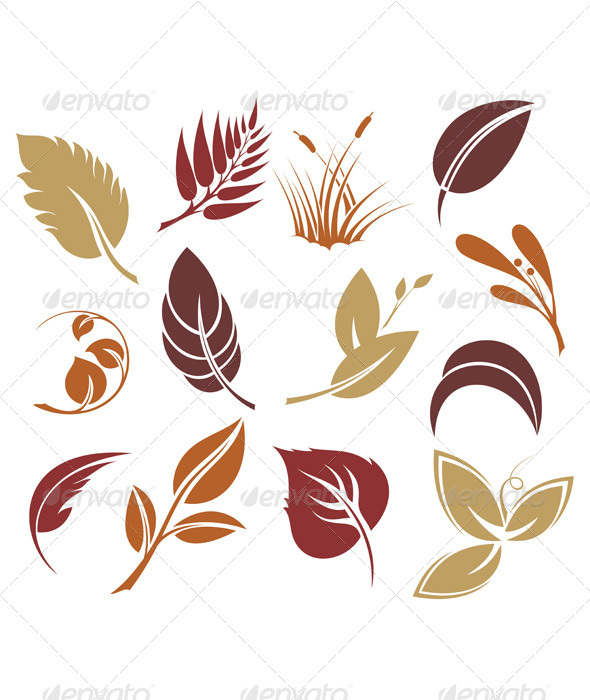 Leaves  - Decorative Symbols Decorative