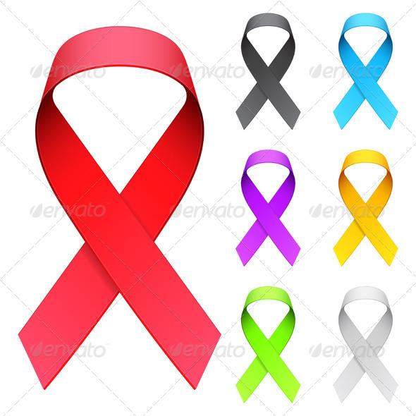Aids Ribbon - Health/Medicine Conceptual