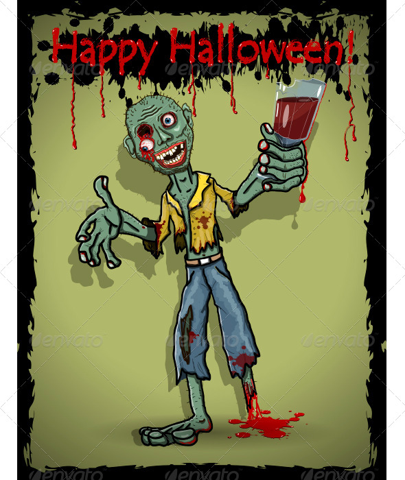 Zombie - Halloween Seasons/Holidays