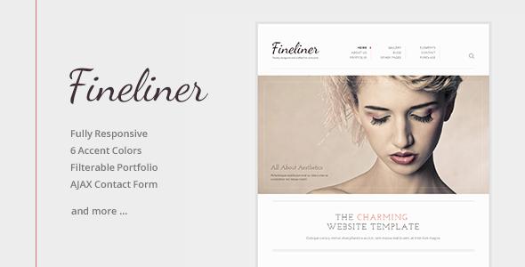 Fineliner – Responsive Portfolio HTML Template