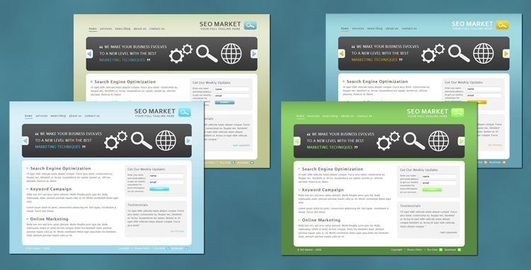 Free Download Seo Market - Marketing Business Template Nulled Latest Version