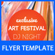 Art Festival Party Flyer Template - GraphicRiver Item for Sale