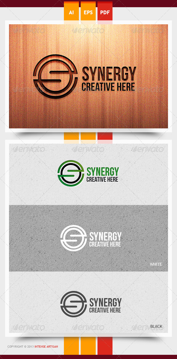 Synergy Logo Template - Letters Logo Templates