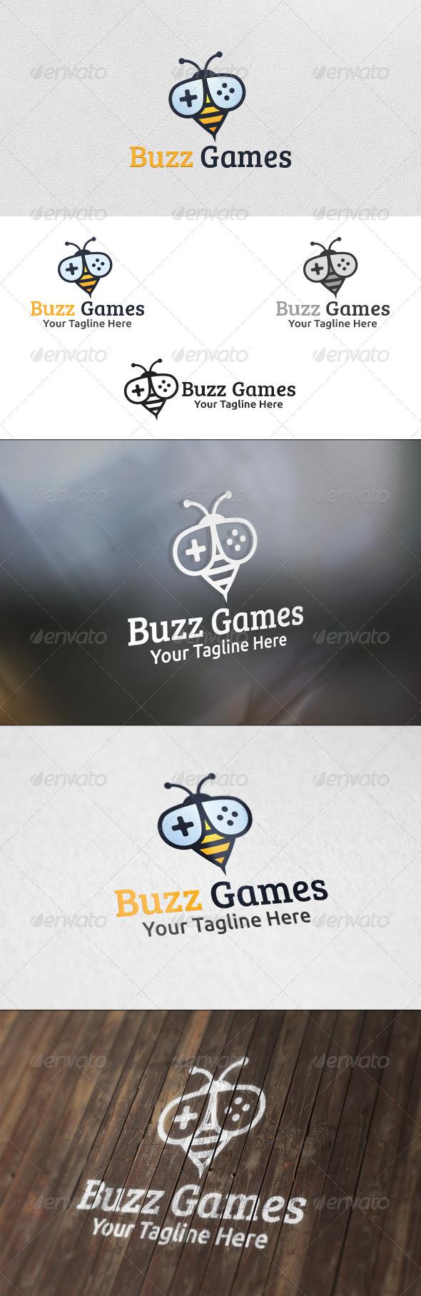 Buzz Games - Logo Template - Animals Logo Templates