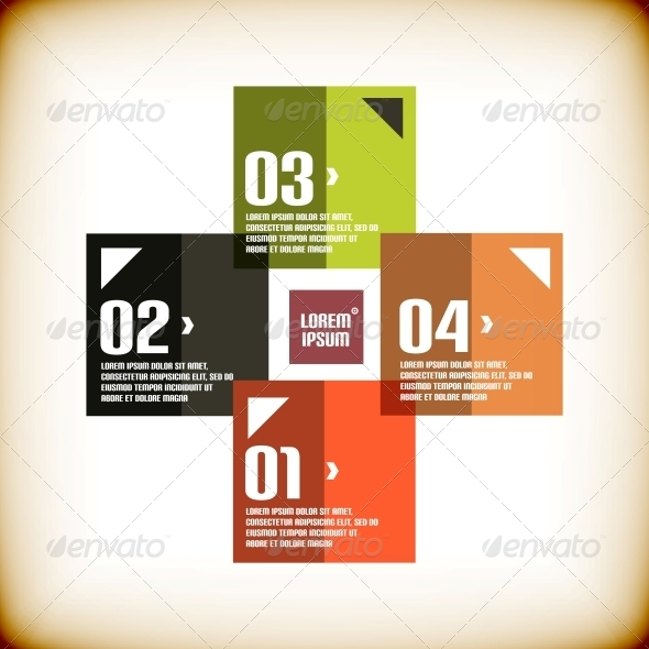 Modern Geometrical Banner Design Template - Abstract Conceptual