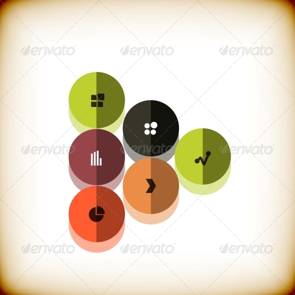 Modern Arrow Business Abstract Design Template - Abstract Conceptual