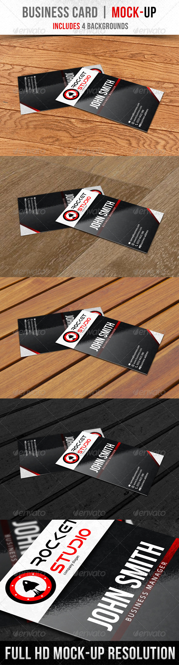 Business Card | Mock-Up - Business Cards Print