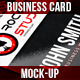 Business Card | Mock-Up - GraphicRiver Item for Sale