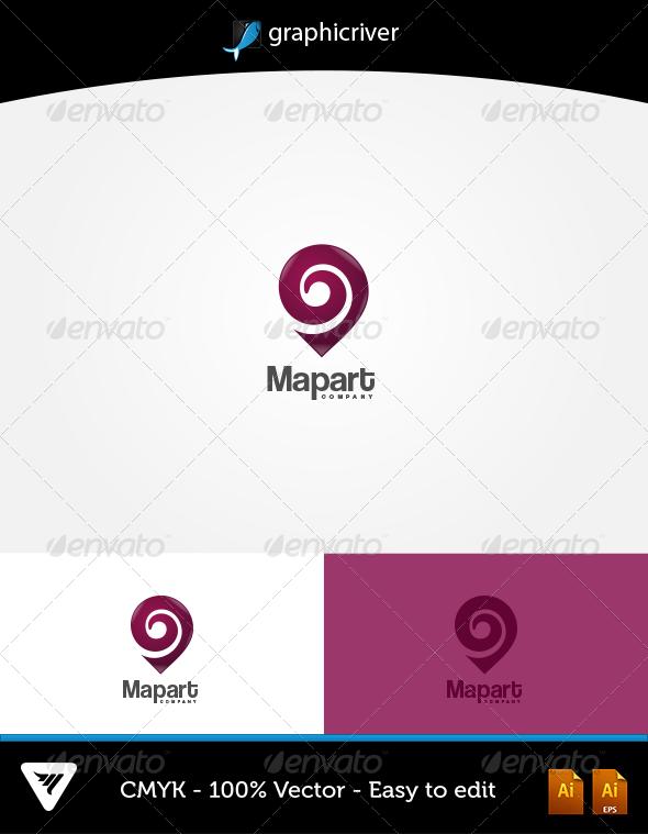 Map Art Logo - Logo Templates