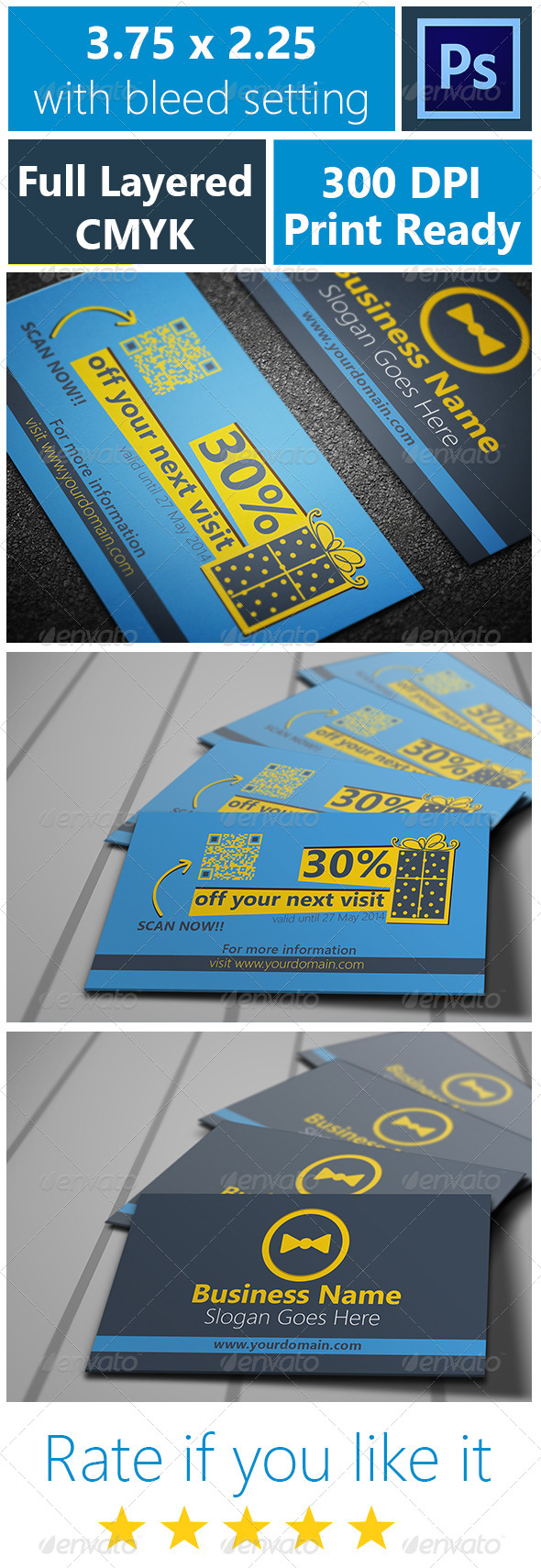 Voucher Card 2 - Cards & Invites Print Templates