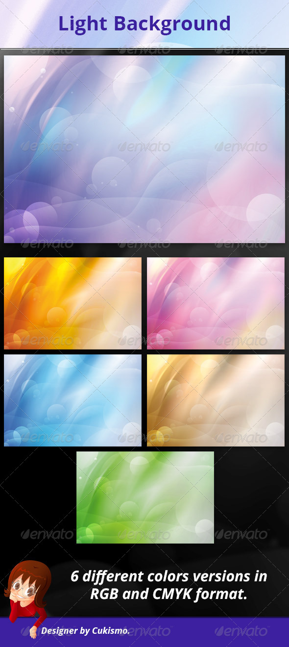 Light Background - Abstract Backgrounds