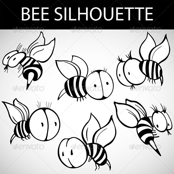 Cartoon Bee  - Miscellaneous Characters
