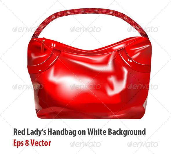 Girl Handbag - Objects Vectors