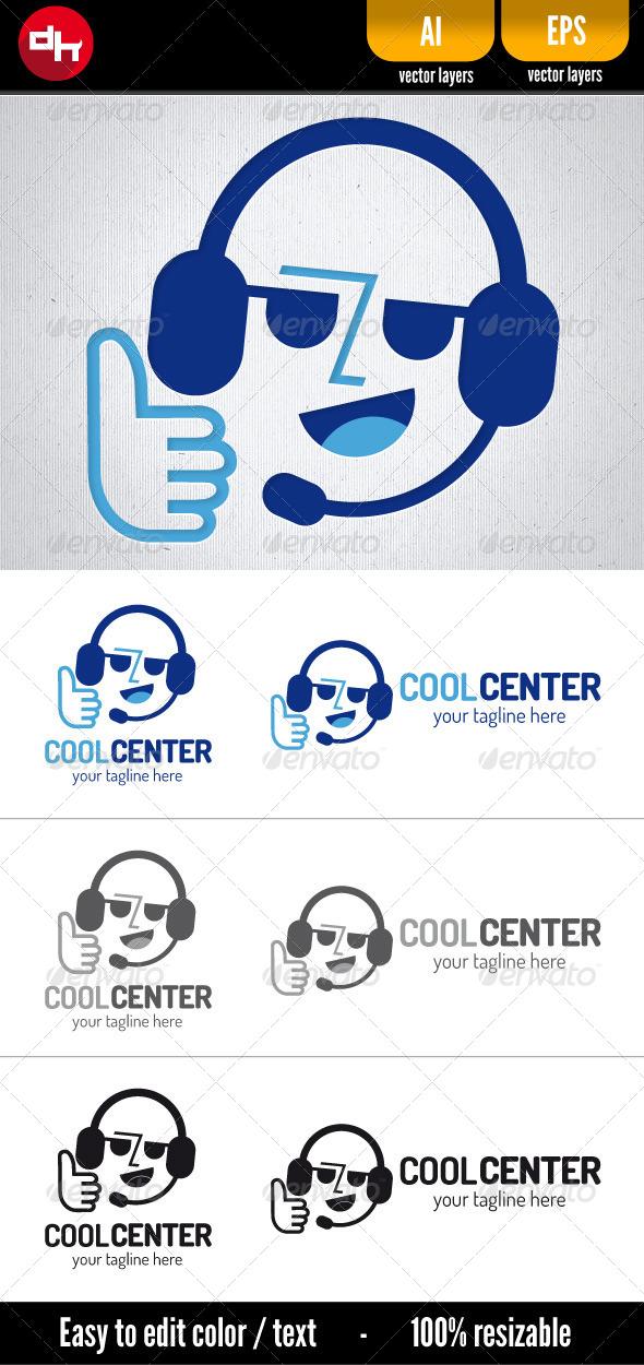 Cool Center - Humans Logo Templates