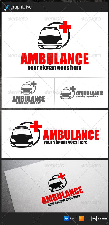 Ambulance Logo Templates - Objects Logo Templates