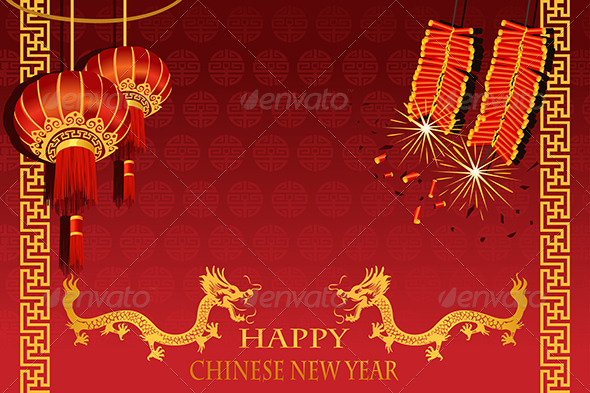Chinese New Year - Seasons/Holidays Conceptual