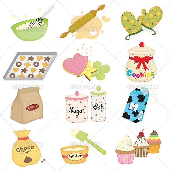 Baking Icons - Icons
