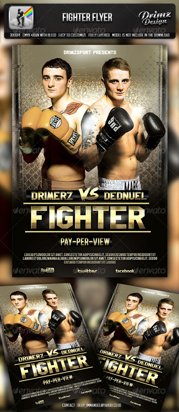 Fighter Flyer - Sports Events