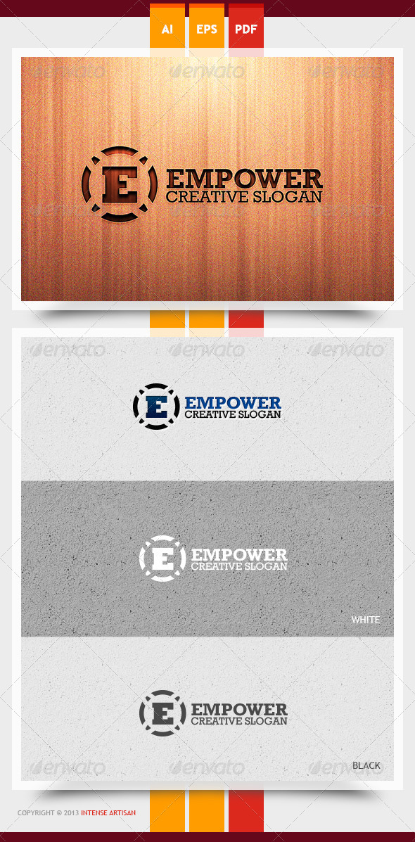 Empower Logo Template - Letters Logo Templates