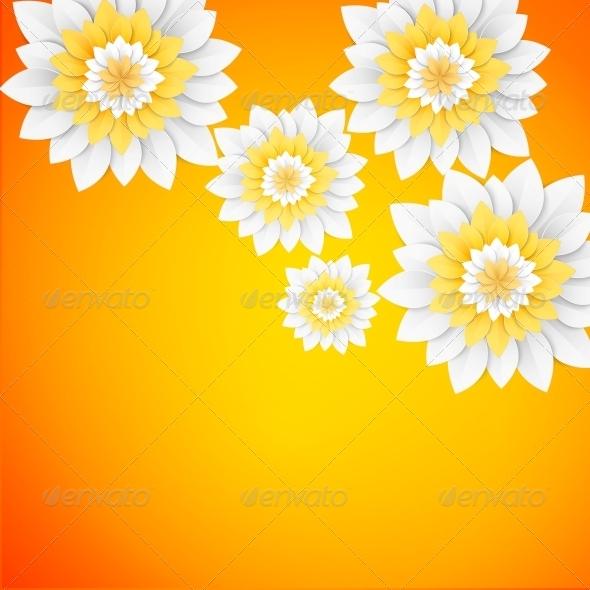 Paper Flowers Postcard - Flowers & Plants Nature