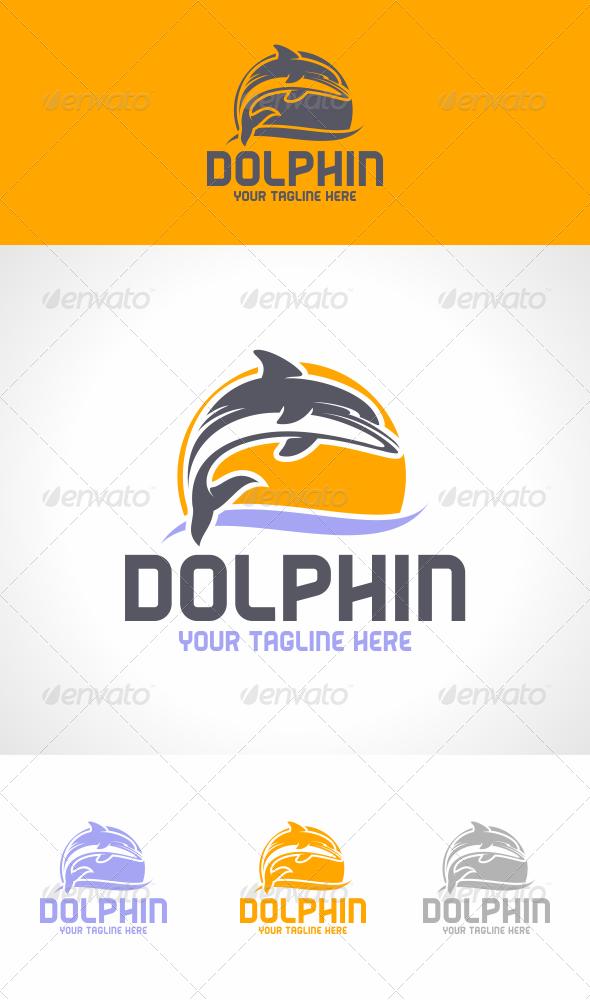 Dolphin Logo Template - Animals Logo Templates