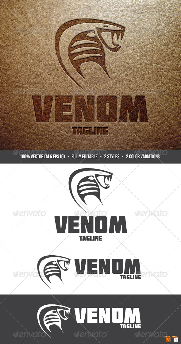 Venom Logo - Animals Logo Templates