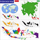 Indonesia Map - GraphicRiver Item for Sale