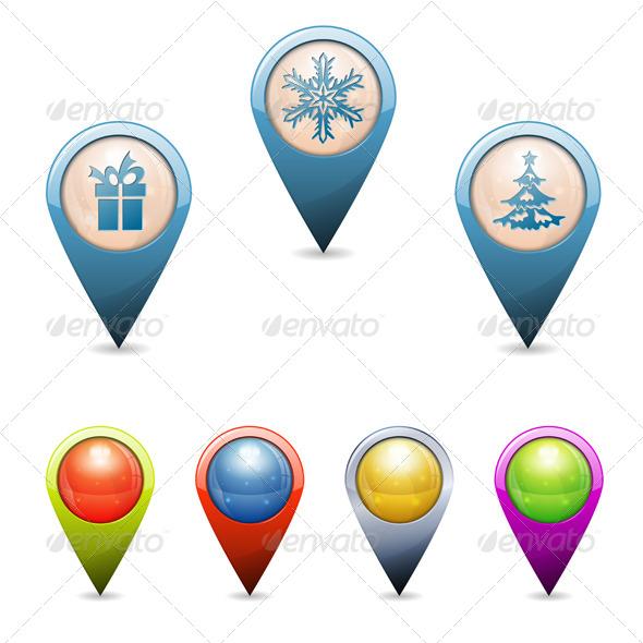 Christmas Pointers - Christmas Seasons/Holidays