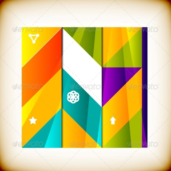 Modern Geometrical Abstract Background - Abstract Conceptual