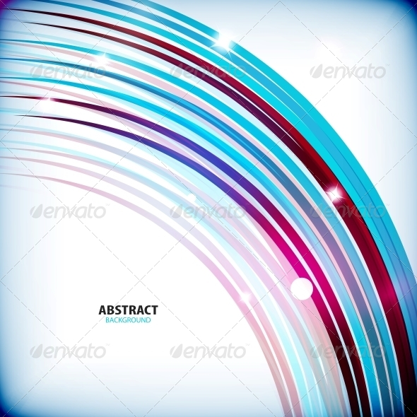 Rainbow Swirl Colorful Abstract Background - Abstract Conceptual