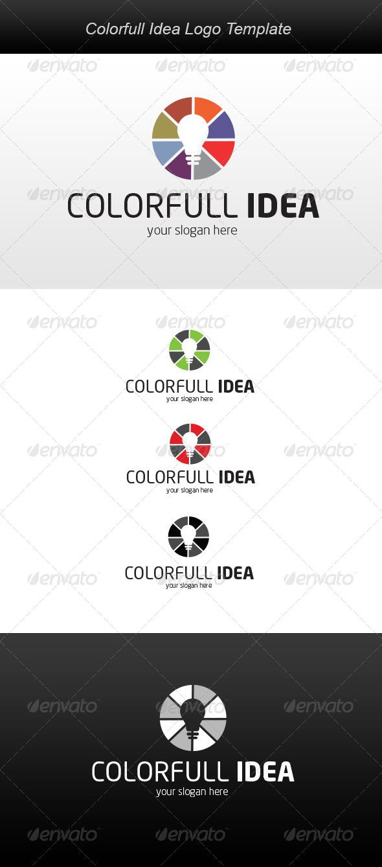 Colorfull Idea Logo - Symbols Logo Templates