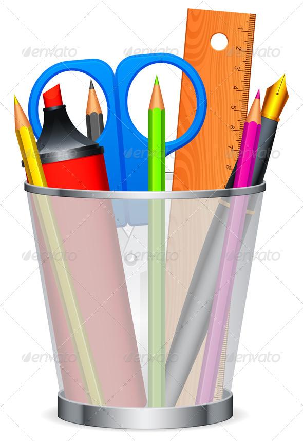 Writing Tools - Objects Vectors
