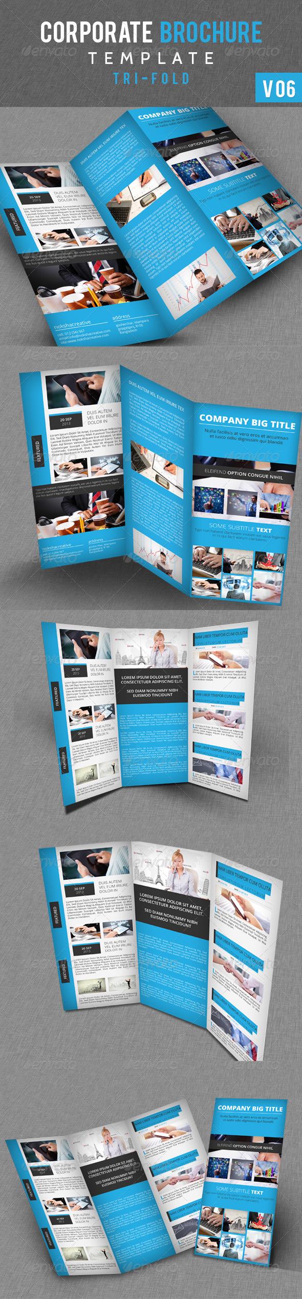 Corporate Tri fold Brochure V-06 - Corporate Brochures