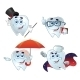 Tooth Characters - GraphicRiver Item for Sale