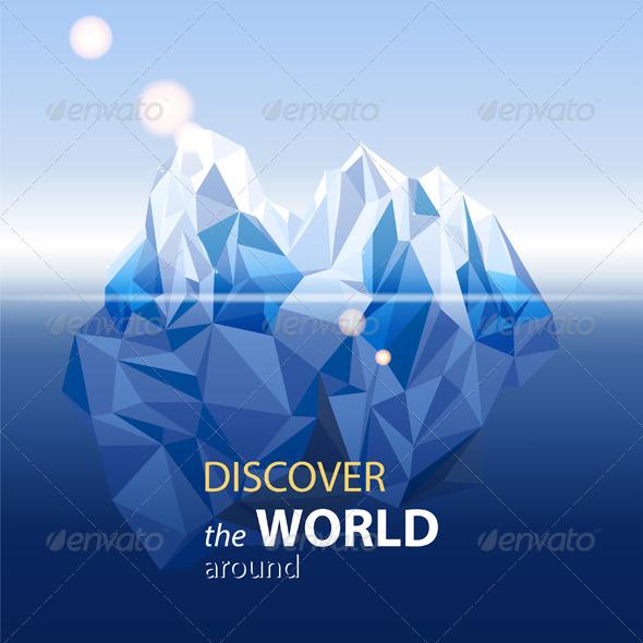 Iceberg  - Landscapes Nature