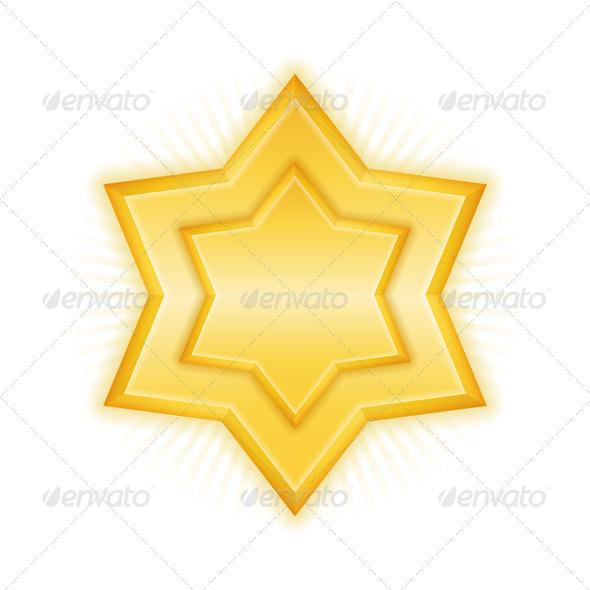 Golden Star - Miscellaneous Vectors