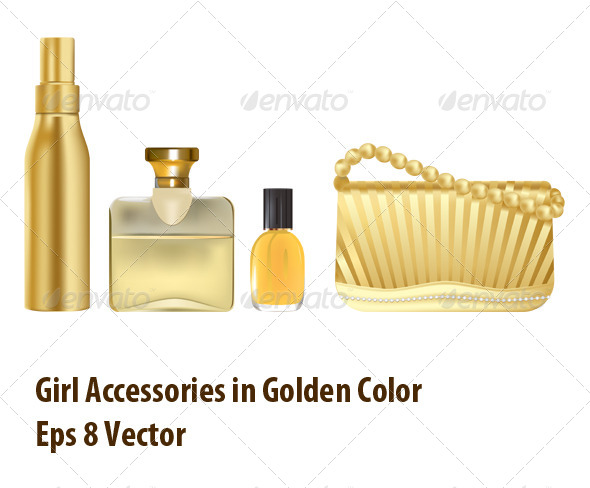 Golden Collection - Objects Vectors