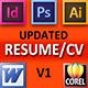 Resume / CV / Curriculum Vitae - GraphicRiver Item for Sale