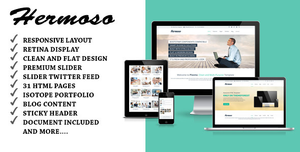 Hermoso – Multi-Purpose Responsive HTML Template