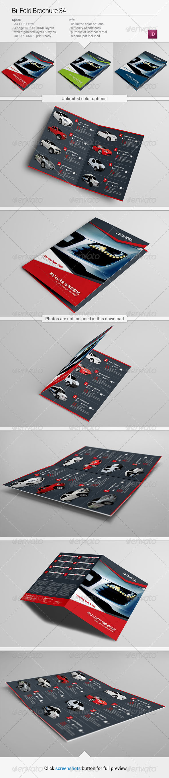 Bi-Fold Brochure 34 - Informational Brochures