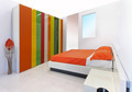 Colorful bedroom - PhotoDune Item for Sale