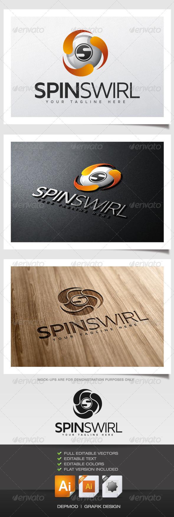 Spin Swirl Logo - Abstract Logo Templates