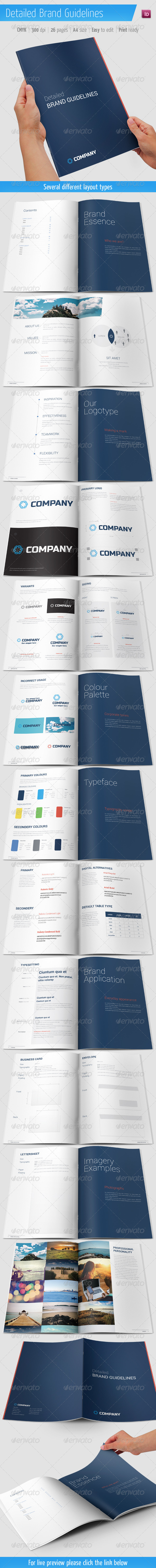 Detailed Brand Guidelines - Corporate Brochures