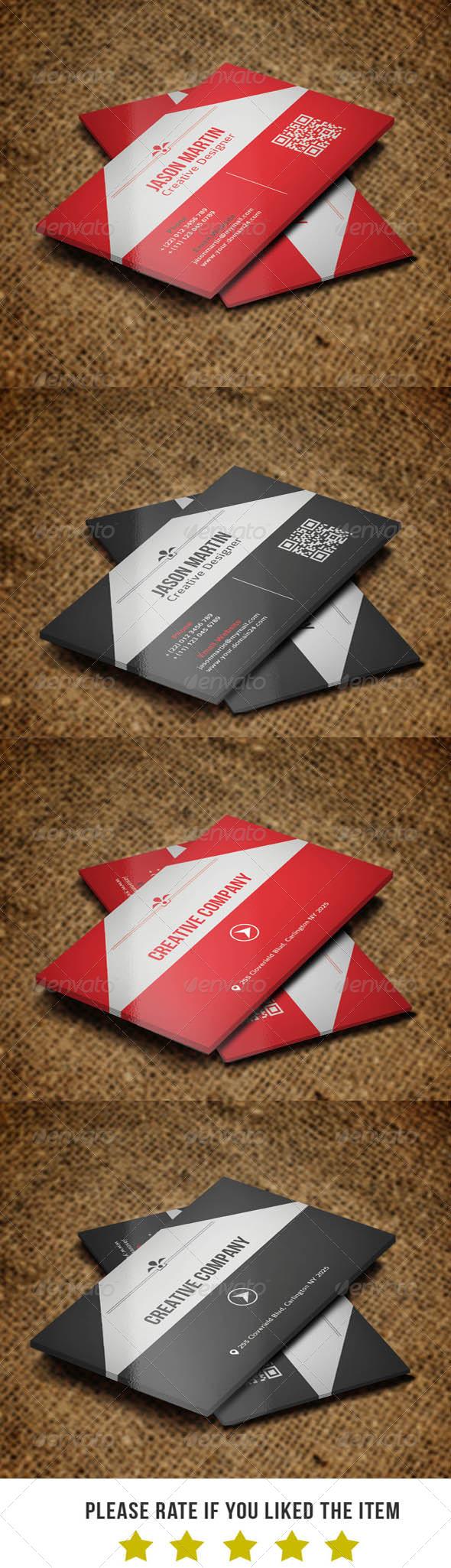 Corporate Business Card v32 - Corporate Business Cards