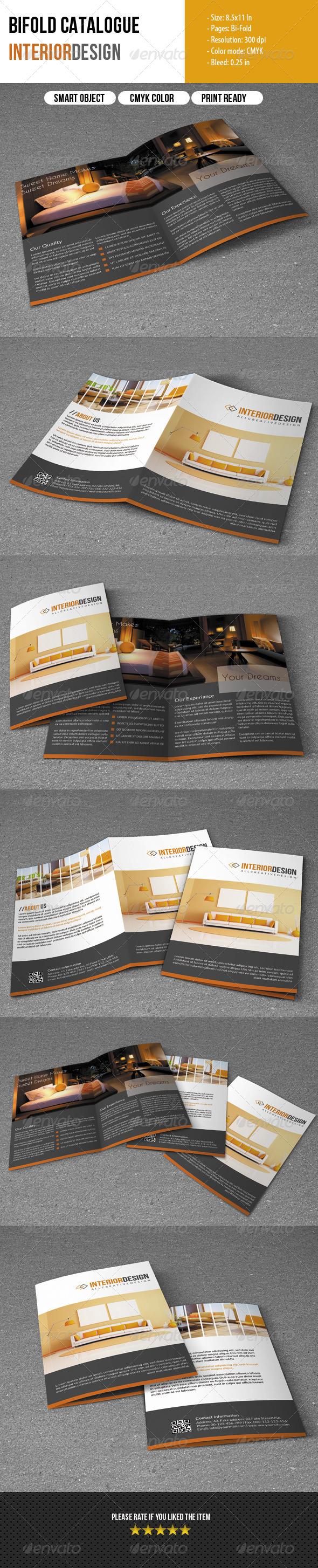 Bifold Brochure- Interior Design - Corporate Brochures