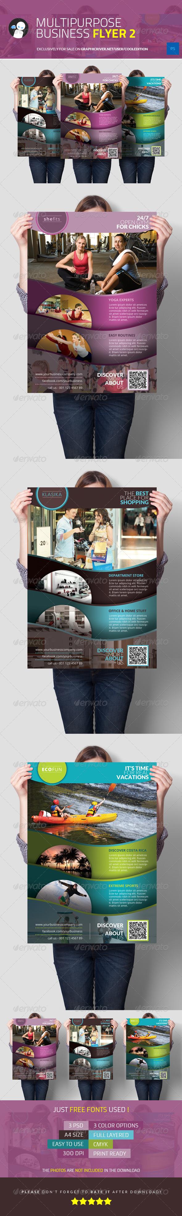 Multipurpose Business Flyer 2 - Commerce Flyers