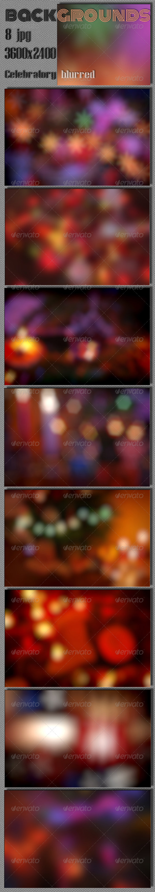 Celebrate Blurred Background - Miscellaneous Backgrounds