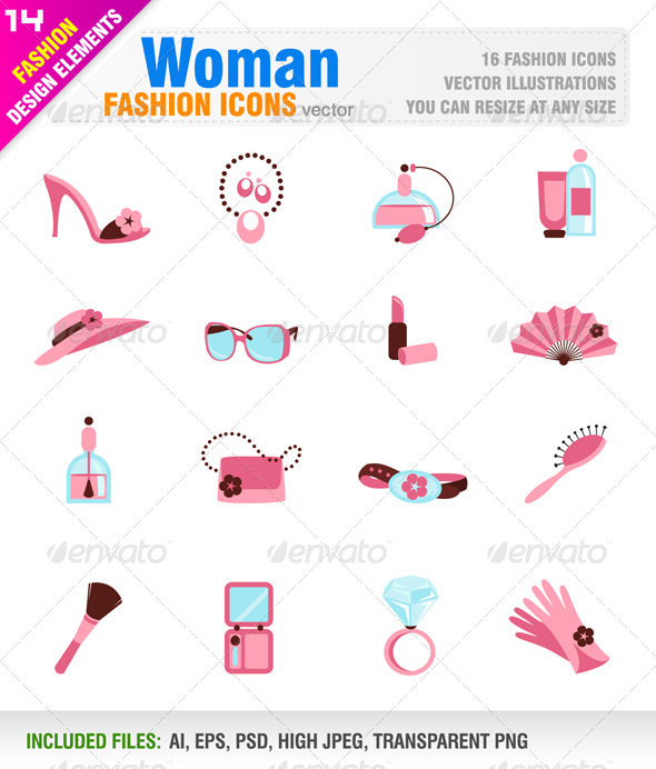 Woman Fashion Icons - Man-made Objects Objects