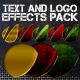 Text and Logo - Effects Pack - GraphicRiver Item for Sale