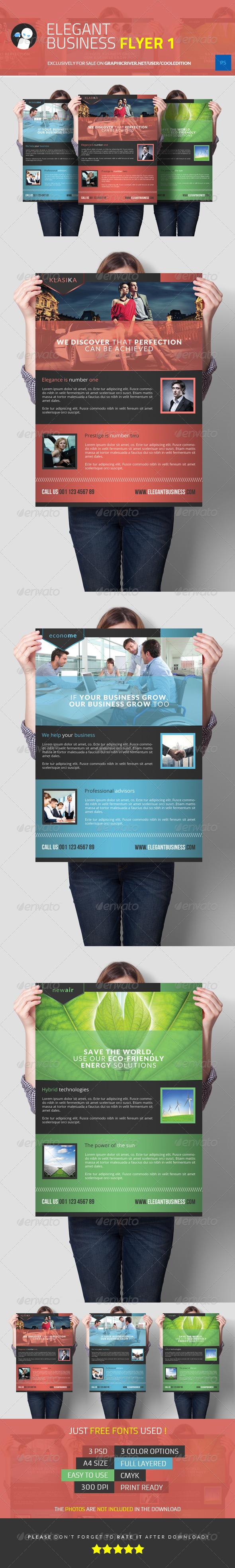 Elegant Business Flyer 1 - Commerce Flyers